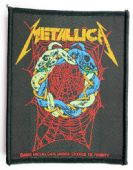 Metallica - 'Tangled Web' Woven Patch
